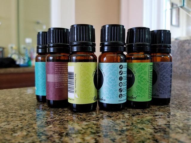 lahvičky s olejíčky