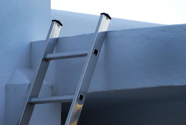 kovový žebřík