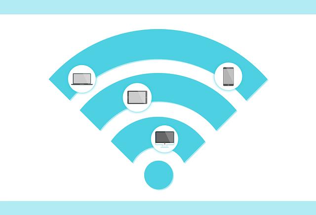 wifi připojení