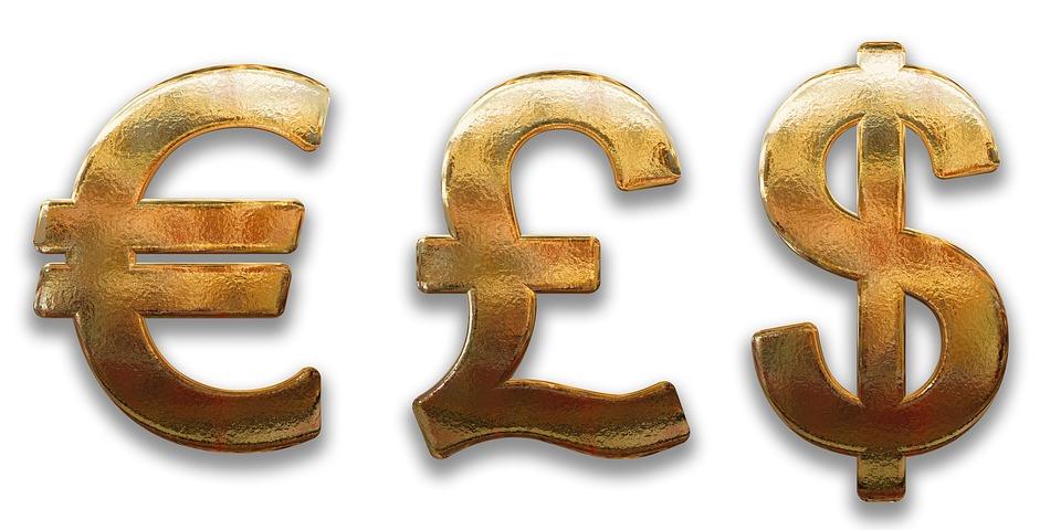 symboly měn